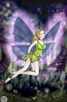 Natura fairy _PSP and BG_ by Eliana-Prog