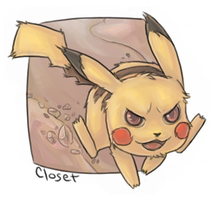 Pika Power by Closet---Monster