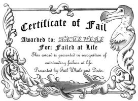 Failed at Life Award by spiderliing666