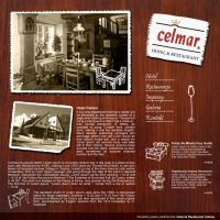 Celmar web design by michaelblackpl