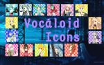 Vocaloid Icons by PuffinBanshee