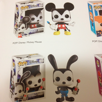 Epic Mickey Pop! Figures by SonicBoyAnt