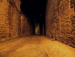 Beaune - Ruelle -1- by Maliciarosnoir-stock