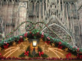 Strasbourg Cathedral by Rounette