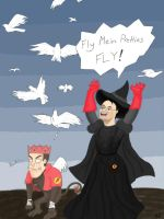Fly Mein Pretties by Kait-Kat16