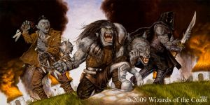 Orcs by warlordfgj