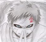 gaara drawing by CreaturesofNat