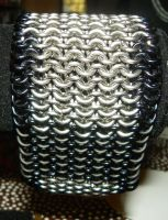 Chainmaille Bracer by ydoc16