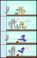 LOL Wolf Comic by Lilith13thevampire