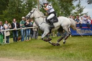 3DE XC Sandra Auffarth - Well done, Blue Frontier by LuDa-Stock