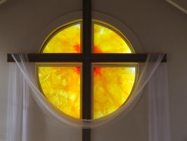 Stained Glass Window Installation by TBPlayer