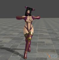 Juri Cosplay Mileena by DragonLord720