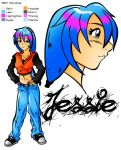 Jessie Character Sheet by the-kid36
