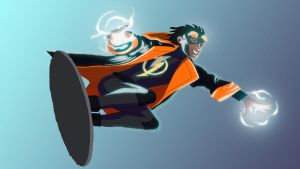 Static Shock by angryzenmaster