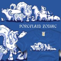 Porcelain Zodiac by amegoddess