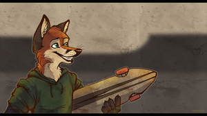 Board Fox by Tsebresos