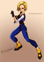 Android 18 by sarch