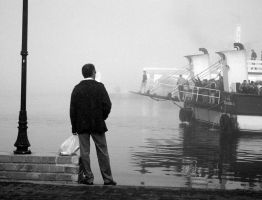 the foggy day in canakkale-2 by badeselcuk