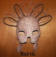 Earth Mask by ErikDShipley