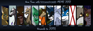 One Year... by VitaniFox85