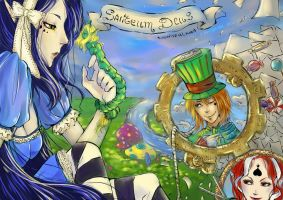 S. D. in wonderland colored ver by Lokimi13