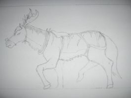 Reindeer ferorse by Tallonis