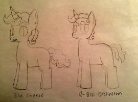 Orchastrated Pie (Chesspie and Buttonbelle Kids) by Dansenhedgehog