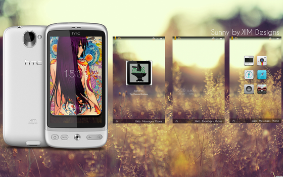 Sunny for HTC Desire by KINGMANI100