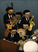 Miles Davis' Second Quintet by tedikuma