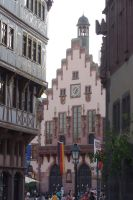 street canyon in Frankfurt by Pippa-pppx