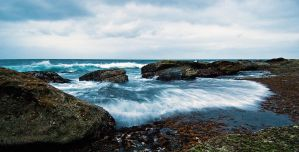 Low Tide at South Coogee by HarryZero