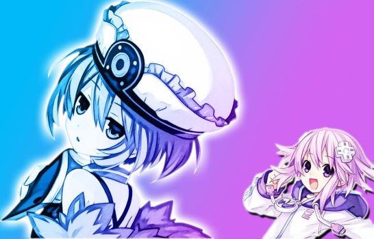 Neptune and Blanc Colors 1 by TaoTheJadeDragon