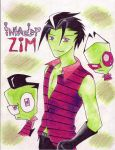 invader_ZIM by zims-lost-soul