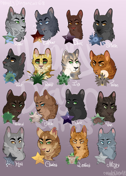 Leaders of Riverclan by WoofyDragoncat68