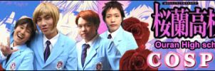 ouran cosplay banner by Utentsu