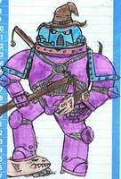 Fish Stick Space Marine by Super-Wooper