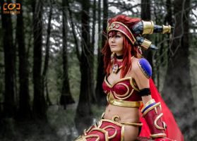Kiotoko-Solo as Alexstrasza by ryanbourque