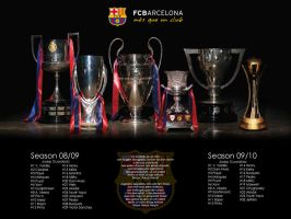 FC Barcelona - 6 COPAS by Lord-Iluvatar