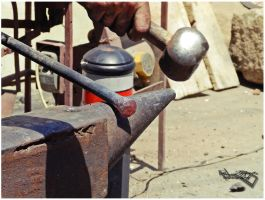 Traditional iron manufacturing 2 by moonik9