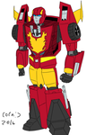 Transformers: The Warning After - Rodimus Prime by CornyCartoons