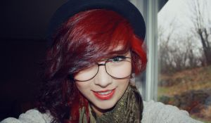red hair. by AfflictionsEclipsed