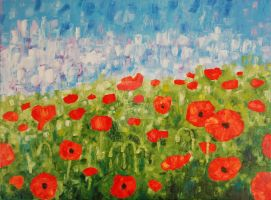Poppies by ConnyDuck