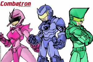 MY version of d Combatron GANG by madcow-neotaku