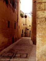 Mdina - Old Street by metal-steffi