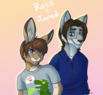 ProJared and Rubberninja Furs by Klumpeh