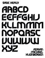 SAGE HEAVY Typeface Design by Frohickey