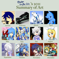 2011 Art Summary by phantato