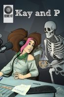 Kay and P: Issue 07, Cover by Jackie-M-Illustrator