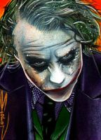 Joker - Deadly Gaze by RandySiplon