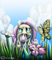 Oh, Flower, you so fragrant! by simpe94